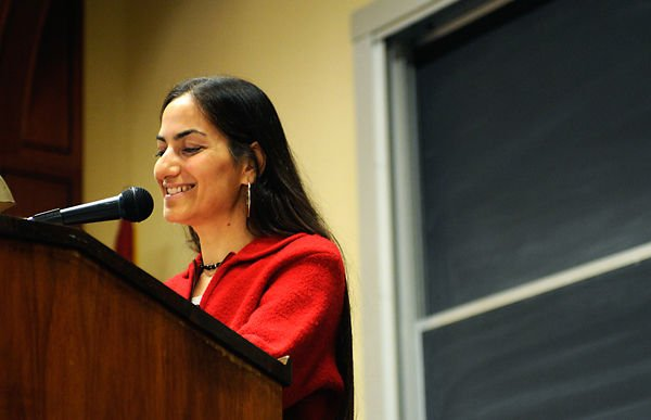 Palestinian author shares story of struggles and inspiration