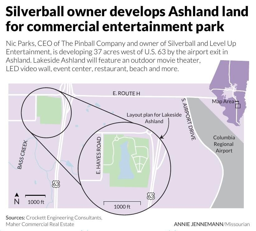 Silverball owner develops Ashland land for commercial entertainment park