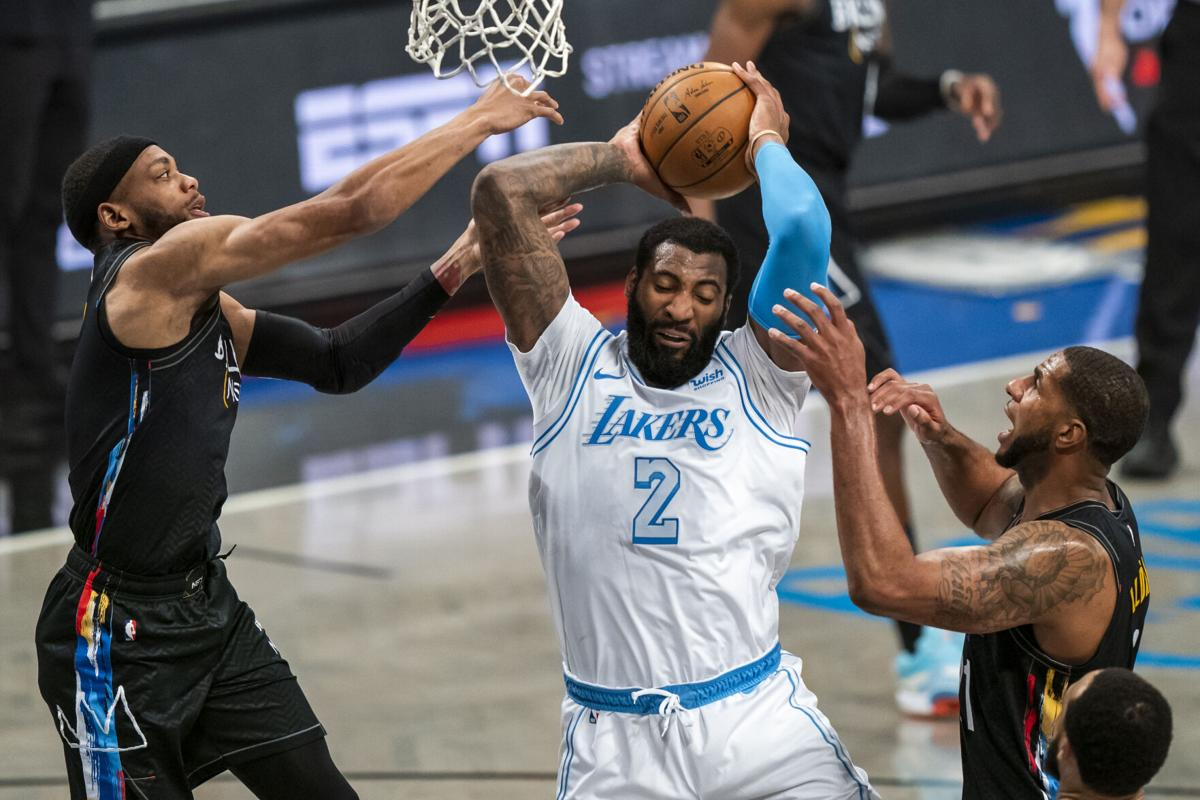 Lakers Nets Basketball