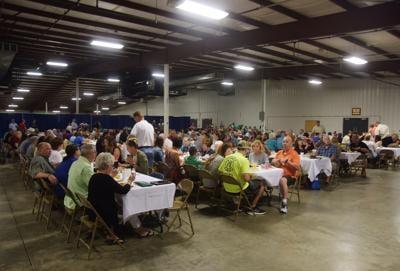 Winning ham marks fair's final day with $1,100 auction bid