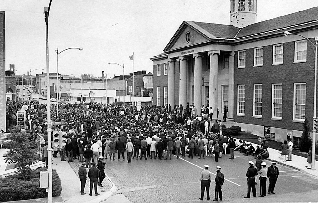 "People attend a ""Vietnam Moratorium"" on Oct. 16, 1969"