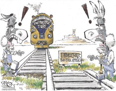 Democrats negotiate