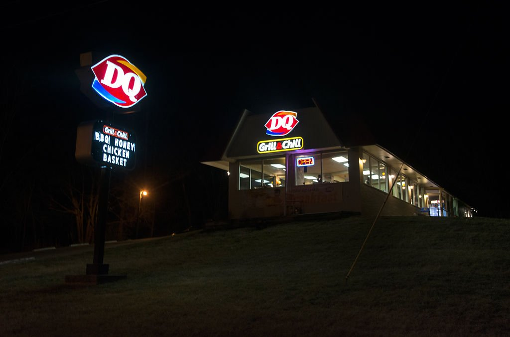 The Dairy Queen in Fayette where Kenny Suttner worked
