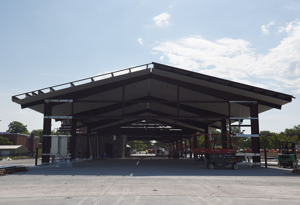 A pavilion is at the heart of Columbia's new agriculture park