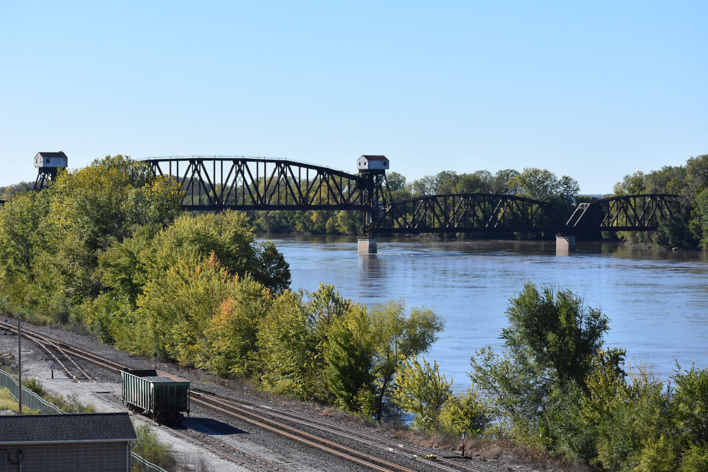 Katy Bridge is a landmark in Boonville