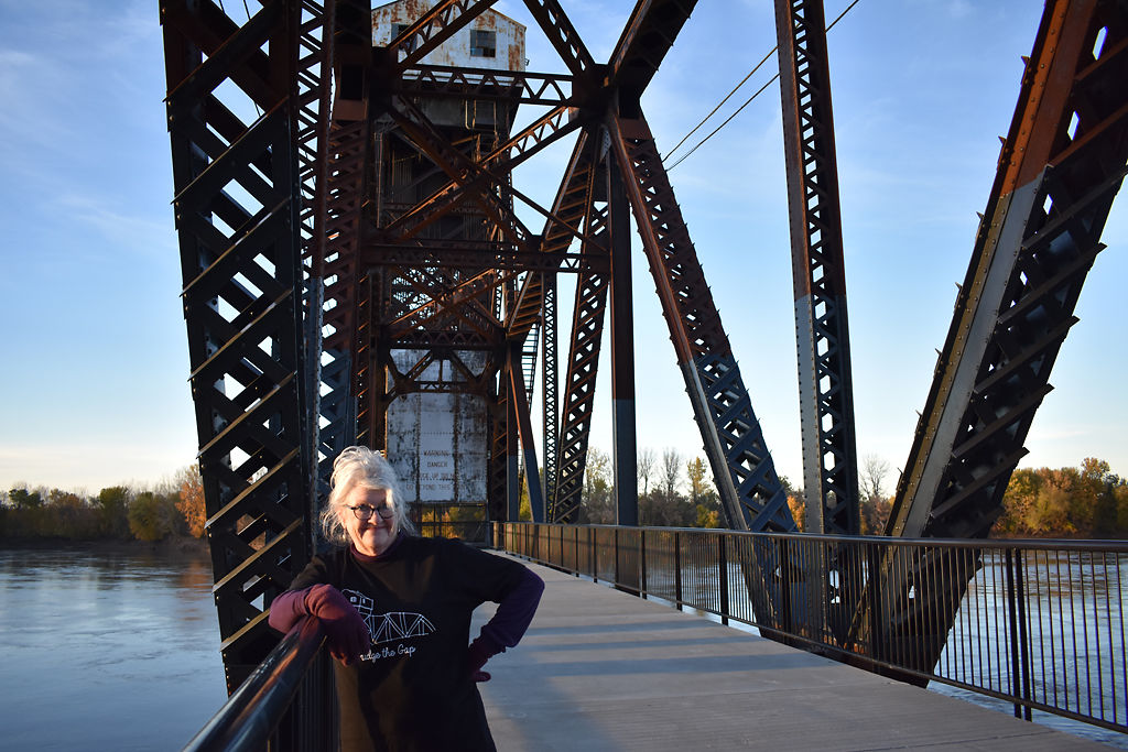 Sarah Gallagher led movement to restore Katy Bridge