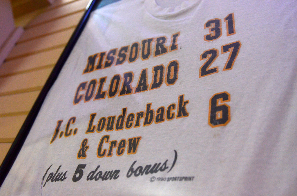 Twenty five years later the 39 fifth down game 39 is a source for T shirt printing columbia mo