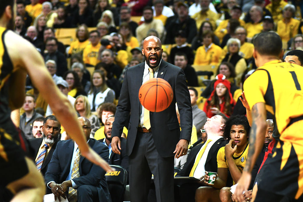 Head Coach Cuonzo Martin gets the attention of his (copy)