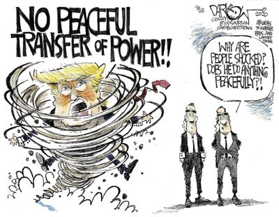 Peaceful transfer of power