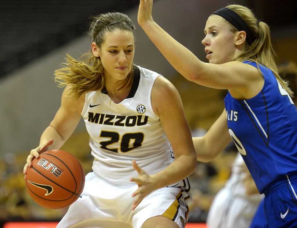 Morgan Eye helps Missouri women s basketball stay ahead of Saint