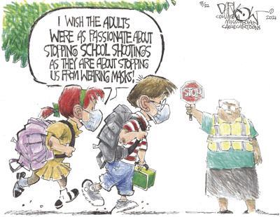 Mask shootings