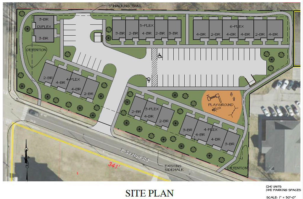 Columbia Housing Authority releases proposed site plan for Kinney Point apartments