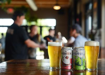 Logboat Brewing Co. is among brands sold at Memorial Stadium
