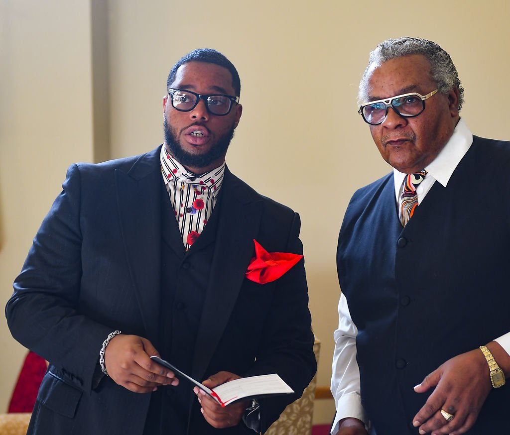 Pastor Jermareian Gillette and Reverend James Patterson