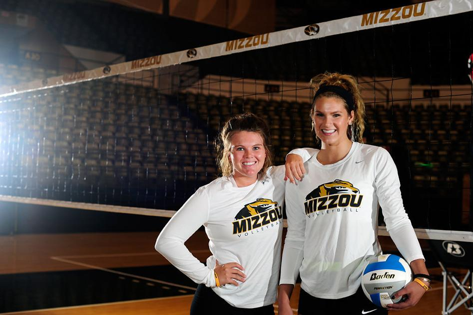 Two best friends transfer to play on Mizzou's volleyball