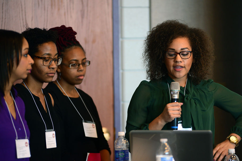 Four students speak about race
