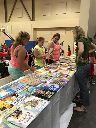 Christmas in July event held at local church