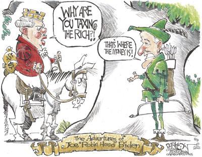 "Joe ""Robin Hood"" Biden"