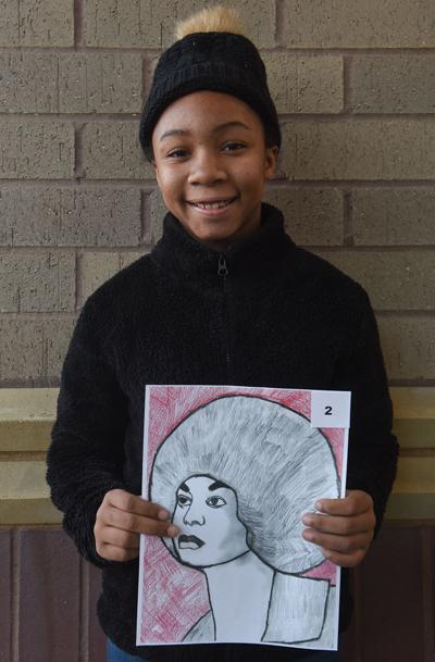 Amecia Johnson, 9, of Battle Elementary