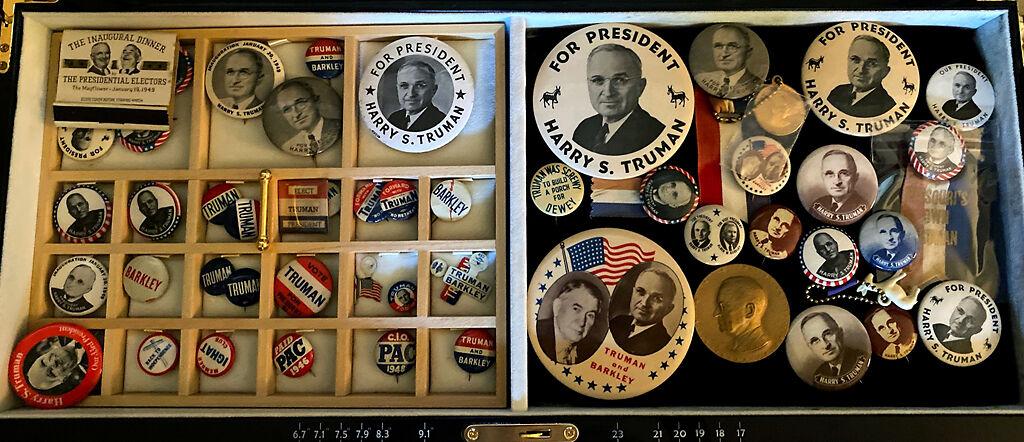 Mark Farnen's button collection