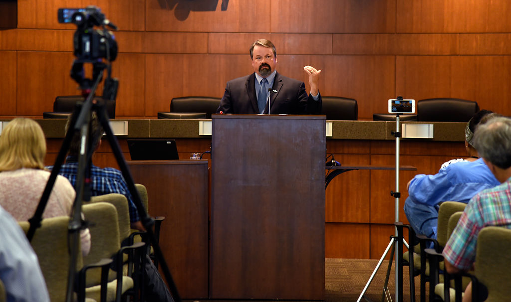 City manager Mike Matthes proposes a budget for the fiscal 2019 year