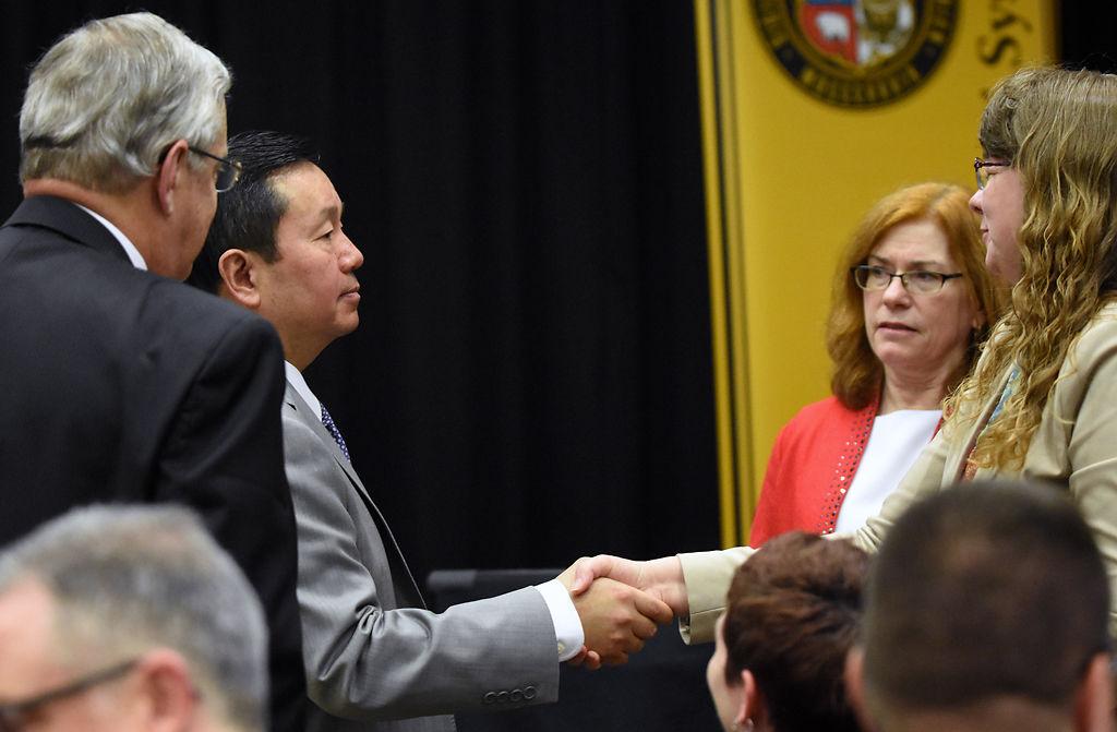 University of Missouri System president announces job cuts