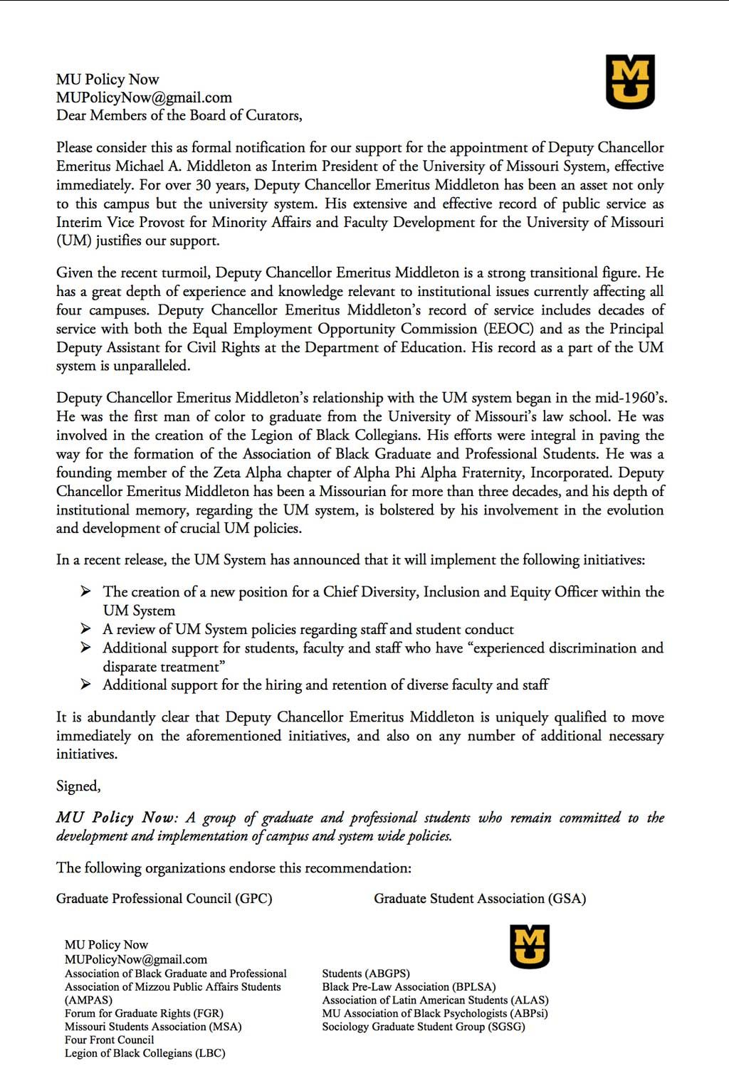 faculty appointment letter of recommendation - Isken