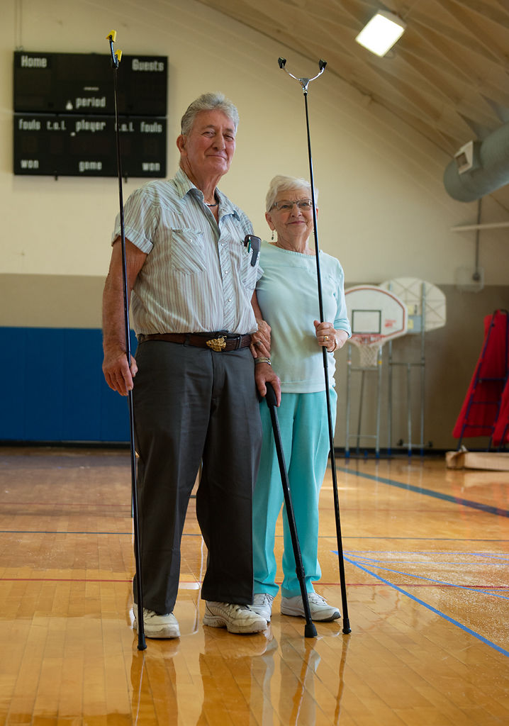 Carl and Carol Howell are a husband and wife duo that have both participated on the National Shuffleboard team
