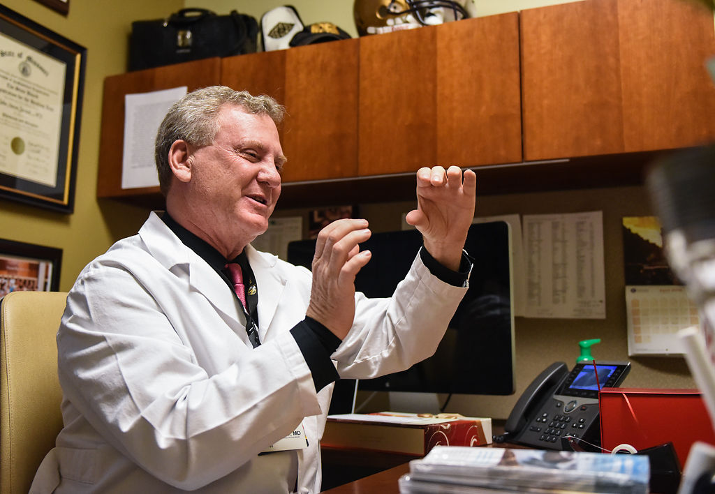 Doctor John Jarstad, an MU Health Care ophthalmologist, tells the story of his trip to Ecuador