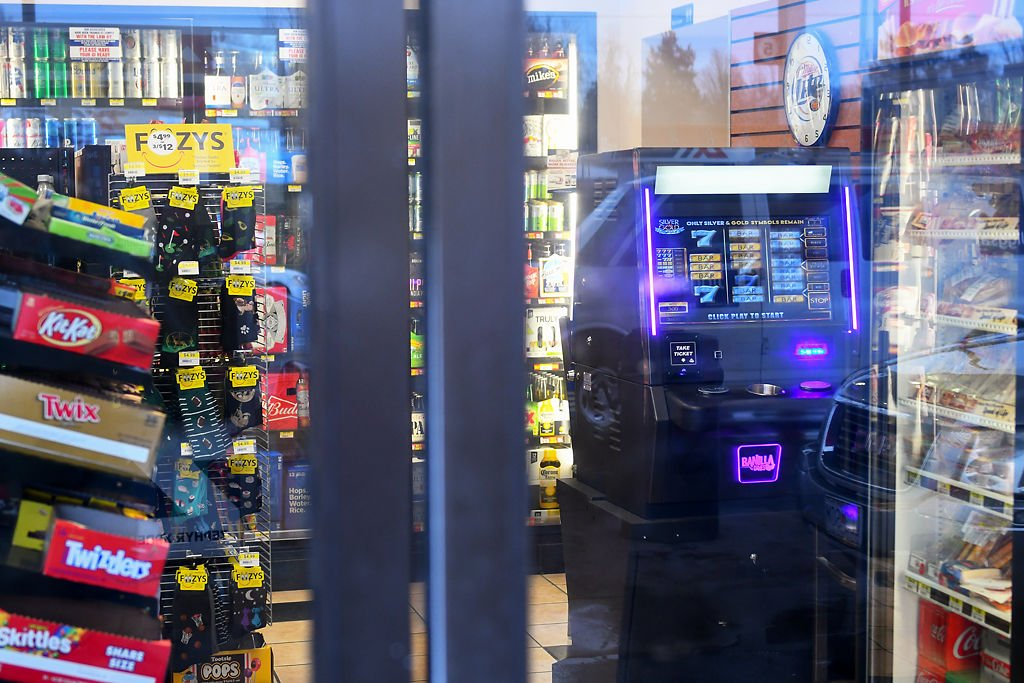 A video gaming machine at Midwest Petroleum