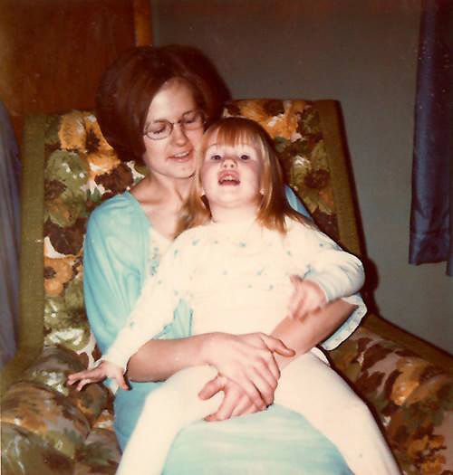 Mary Bratcher and her daugher