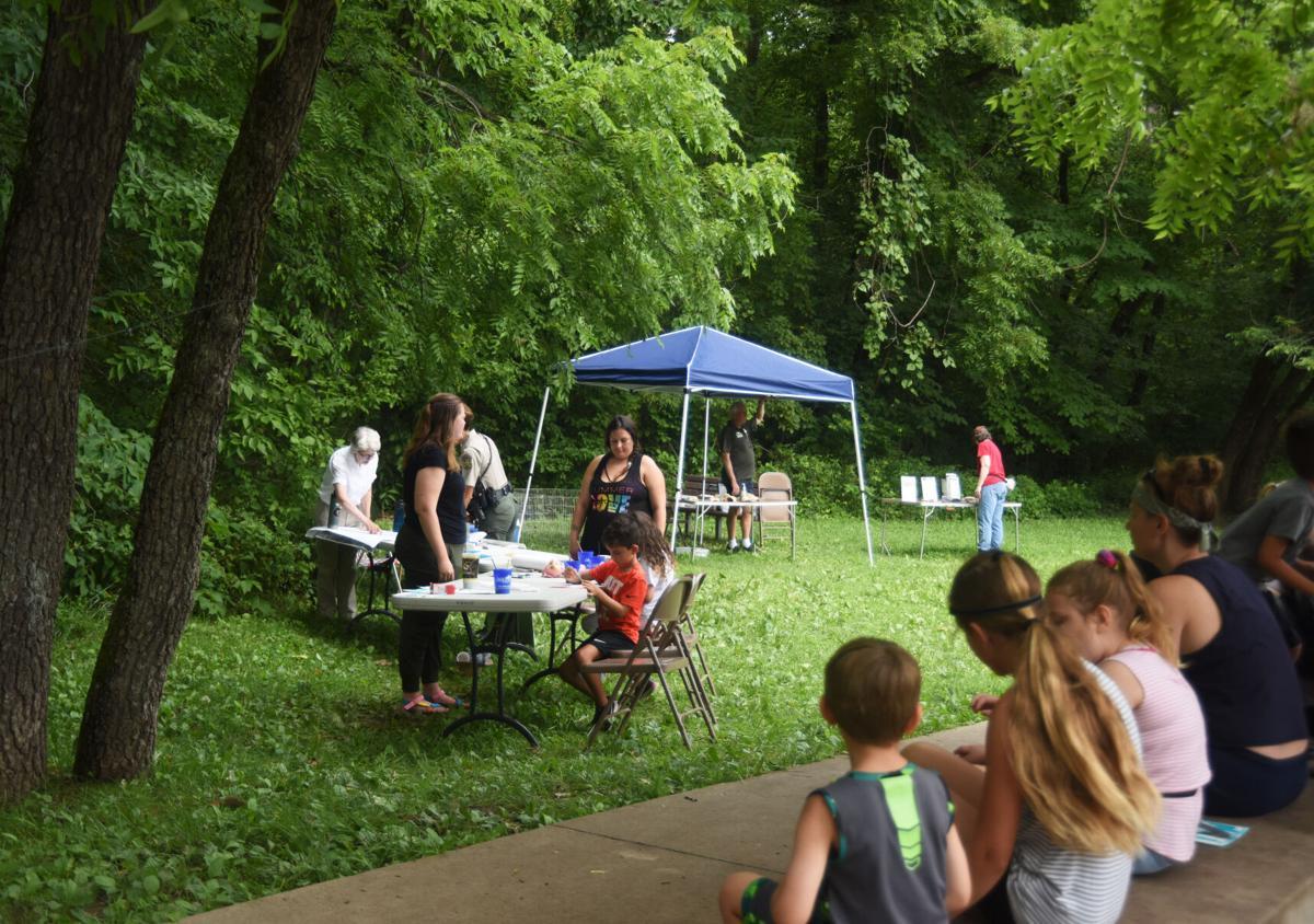 Rock Bridge state park hosts a water festival