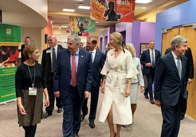Ivanka Trump, Gov. Mike Parson and Sen. Roy Blunt tour the Guadalupe Early Childhood Center