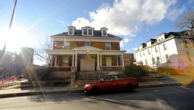 The house at 121 S. Tenth St. sits