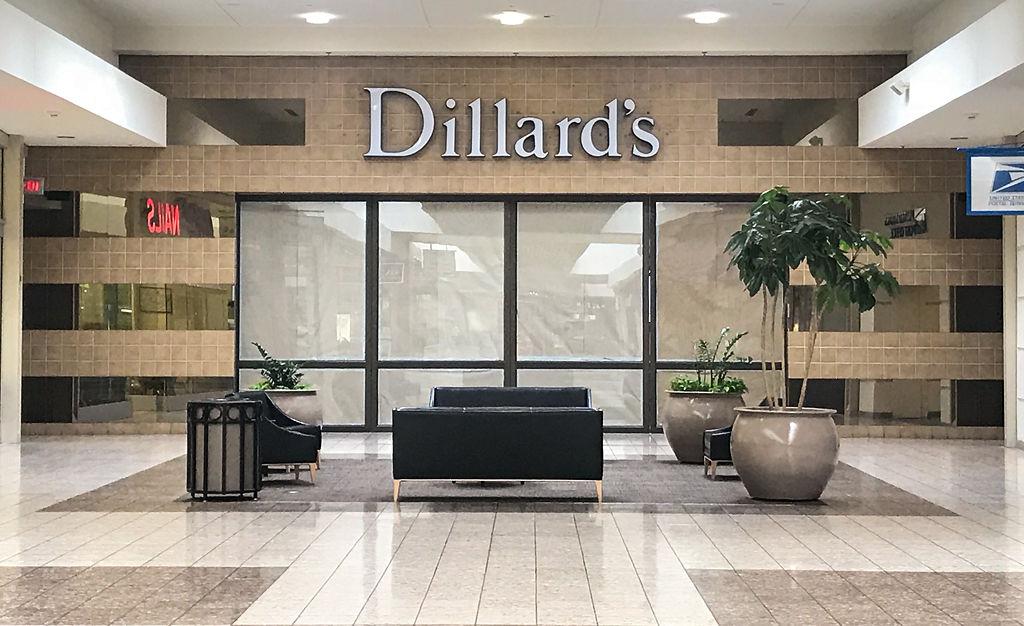The new wing of Dillard's