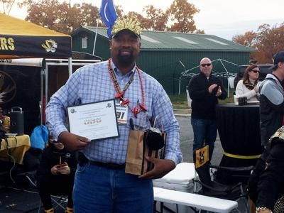 The winner of this year's Missouri football chili cook off was Finis Stribling III