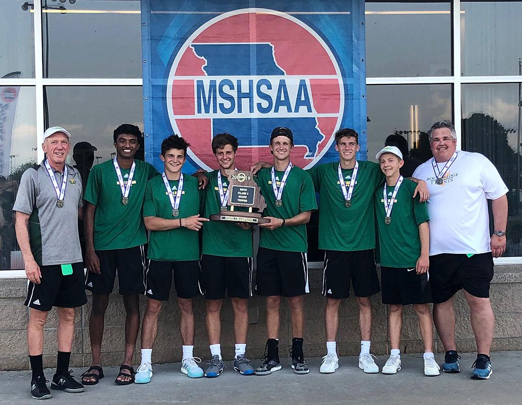 Rock Bridge High School's boys tennis team won the state championship