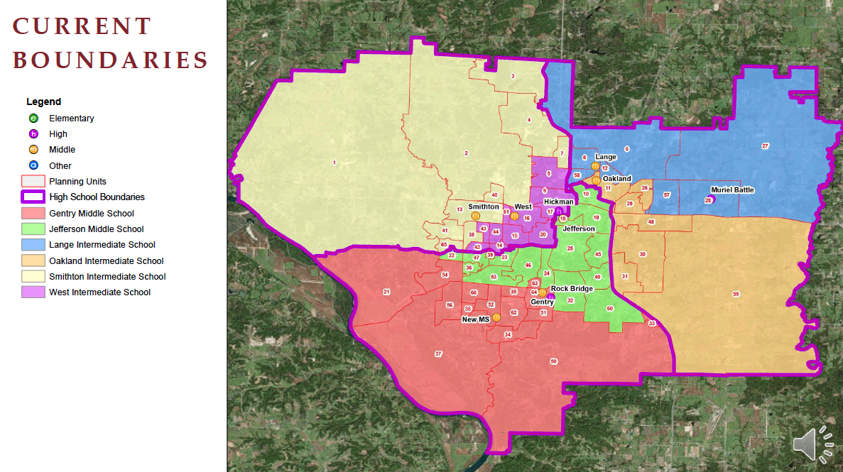 Cooperative Strategies school boundary map presentation