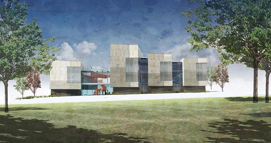 Architectural rendering of the Center for Missouri Studies