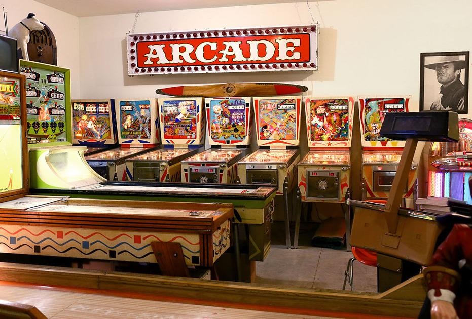 Pinball Collector Restores And Collects Vintage Games