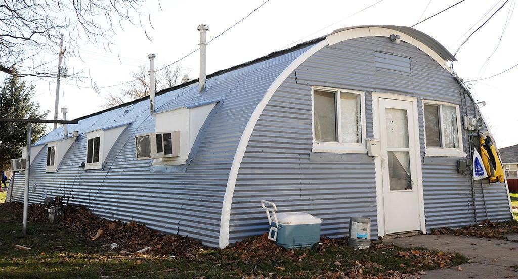 World War Ii Era Quonset Huts Provide Cramped But