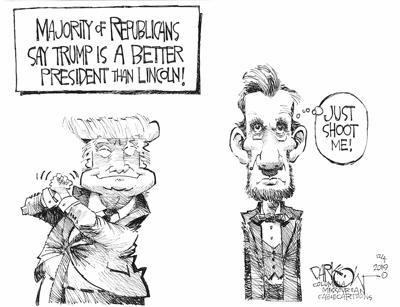 Trump Better than Lincoln