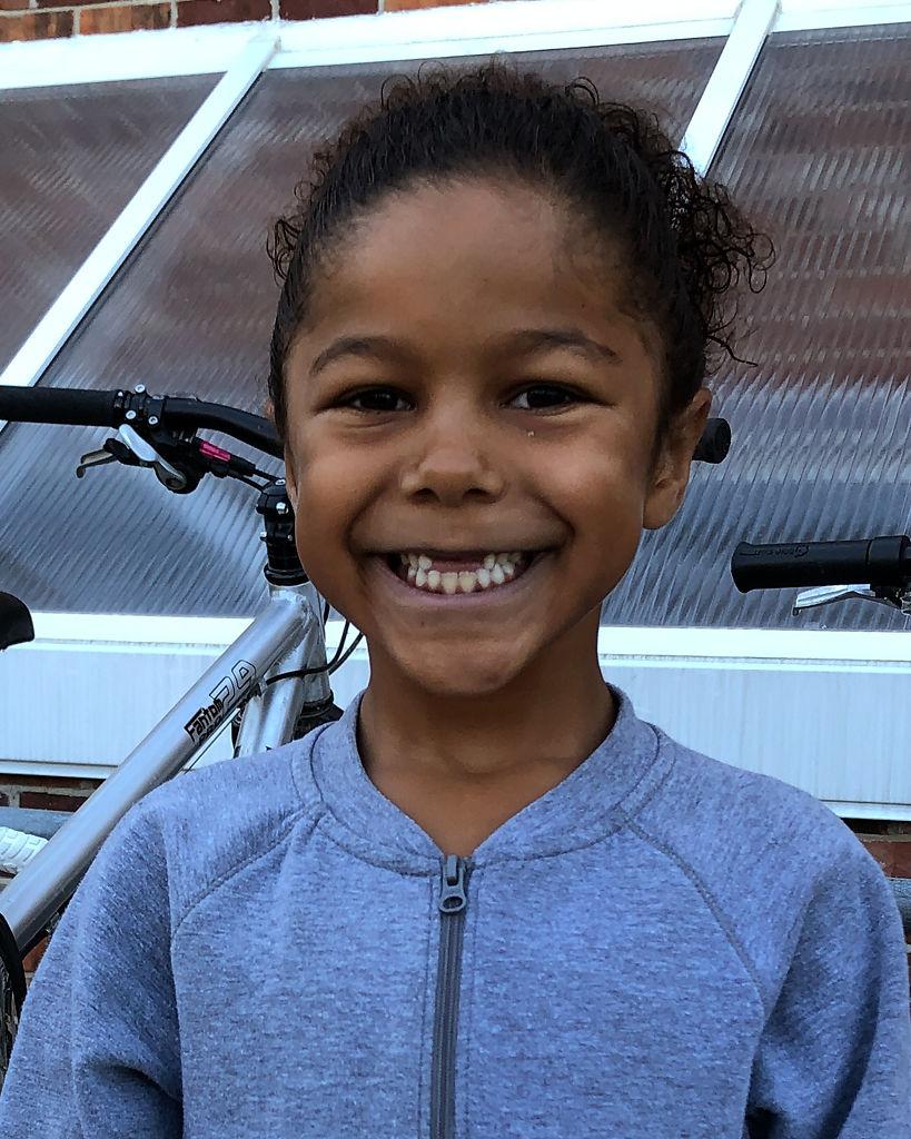 Zora Schatz-Mitchell, 7, Grant Elementary School, second grade