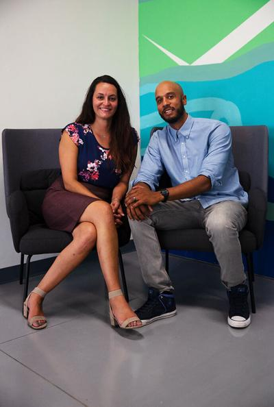 Luana Fields and Mikel Fields are the owners and operators of Cracked Up Mobile