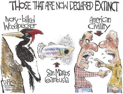 Extinction of civility