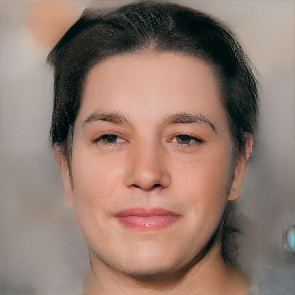 A synthetic image manipulating the face of actor Brad Pitt generated by Purdue Professor Chris Clifton's team