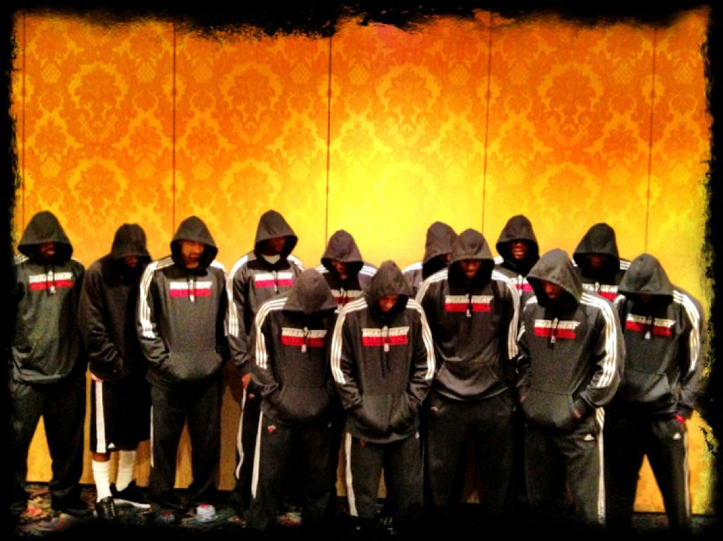 Miami Heat players wear team hoodies in protest of Trayvon Martin case