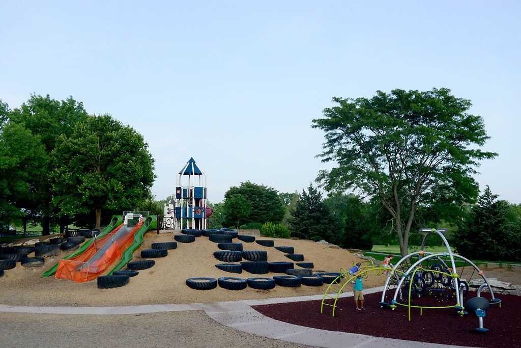 New Cosmo Park playground blasts into future while keeping