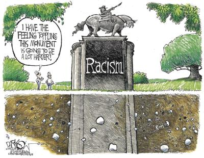 Toppling racism