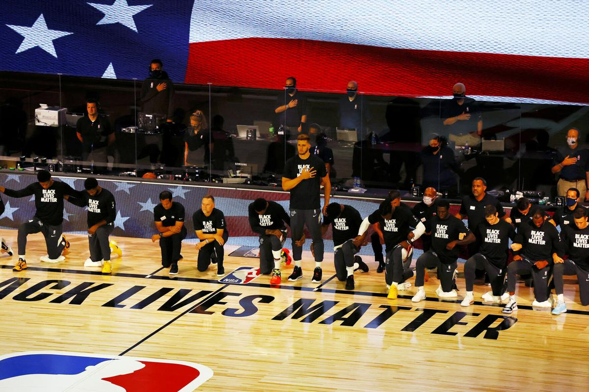 AP Interview: Heat's Leonard stands for anthem, explains why